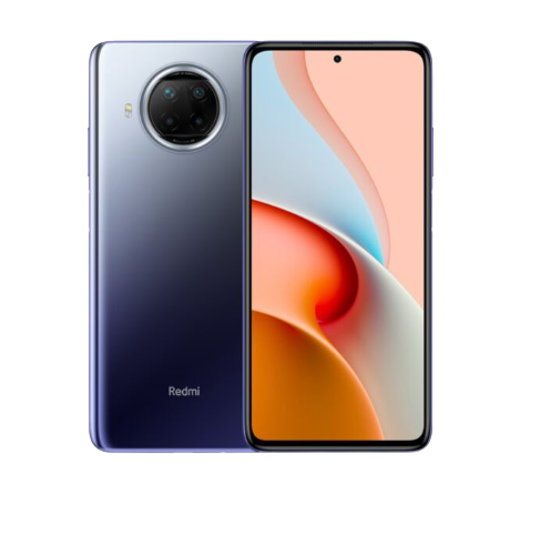 Redmi Note 9 Mobile Front and Back
